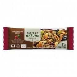 Taste of Nature Organic Bar Dark Chocolate Cherry