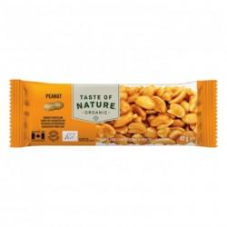 Taste of Nature Organic Nutrition Bar Peanut